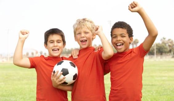 Espinilleras de Fútbol para Niños.