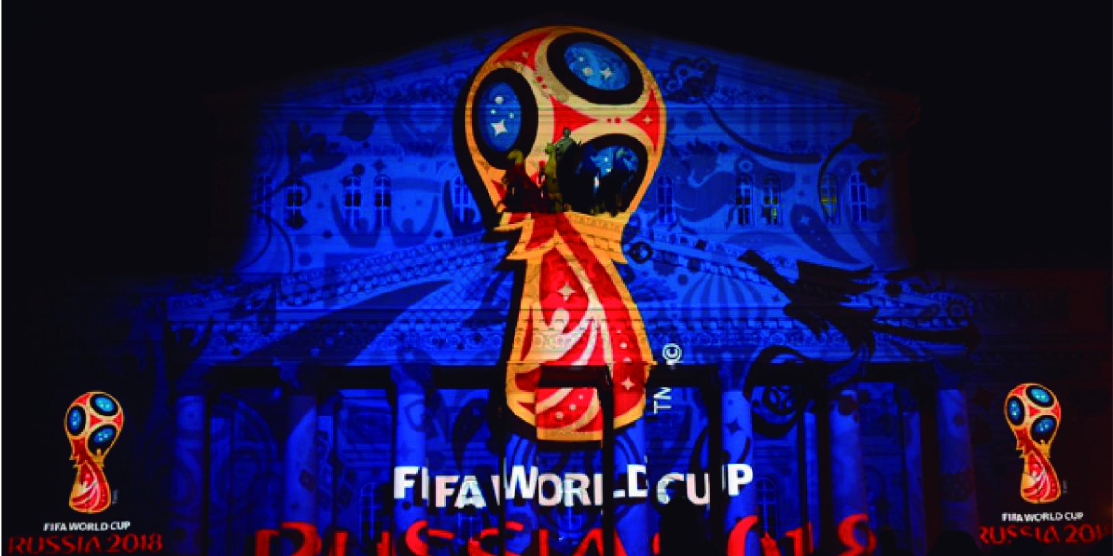 El Mundial de Fútbol ya está aquí.